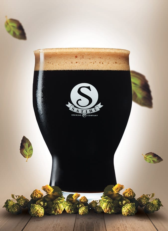 Satire Brewing Company - Stout Beer